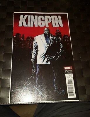Kingpin #3 Mike Perkins Variant Cover (Marvel, 2017)