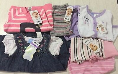 Baby Girls Assorted Clothing Size 0 *BNWT* RRP $93.95