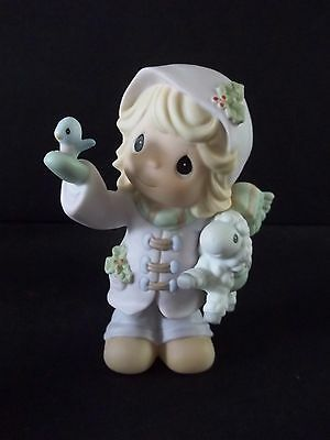 "Precious Moments figurine ""THE FUTURE IS IN OUR HANDS""730068 no box"