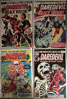 Daredevil (1964 1St Series) #97,107,121,130. 4 X Issues, 2 X 1St Apps - See Desc
