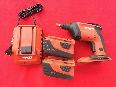 Hilti SD 4500-A18 Drill, Charger & 2 Batteries
