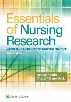 Essentials of Nursing Research: Appraising Evidence 9th Int'l Edition