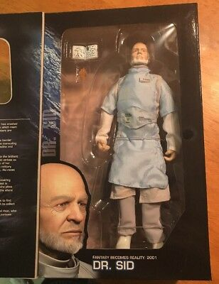 Final Fantasy Dr Sid 12 Inch Action Figure Palisades 2001 MISB