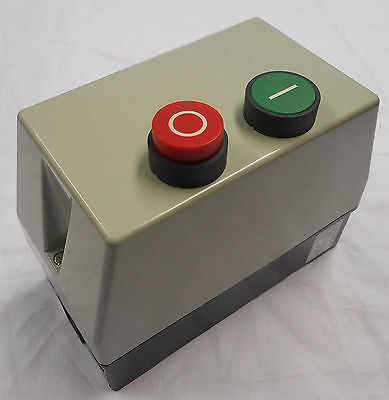 3 phase DOL Starter 4 KW 5.5 HP 415 Coil Voltage Enclosed with Overload Relay