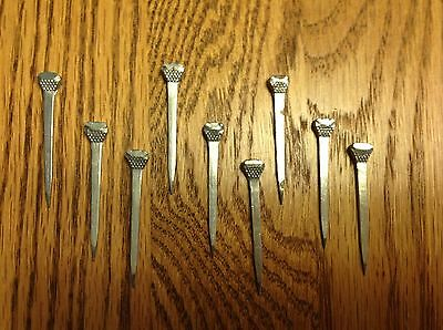 24 Vintage Flat Flathead Flat Head Nails