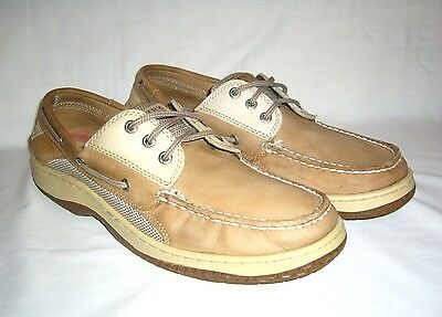 Sperry Men's Top-Sider Leather Billfish Boat Shoe, Size 11.5