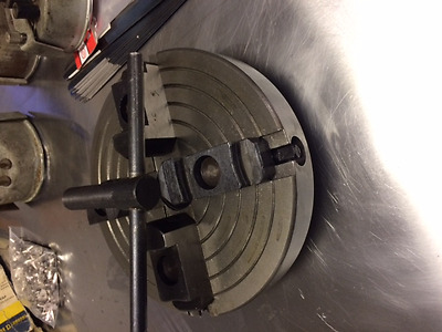 """4 jaw chuck 7"""" new metal lathe south bend 1.5"""" 6tpi"""
