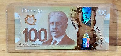 2011 Bank of Canada $100 One hundred Dollar Banknotes UNC- No Tax