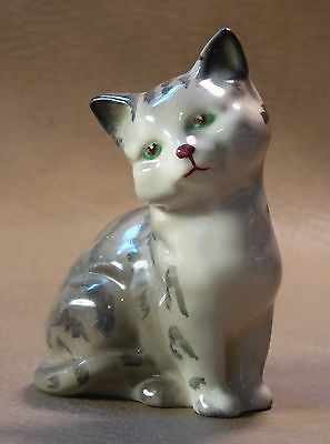 Vintage Royal Doulton Porcelain Tabby Cat Figurine