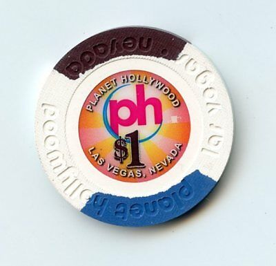1.00 Chip from the Planet Hollywood Casino in Las Vegas Nevada Small
