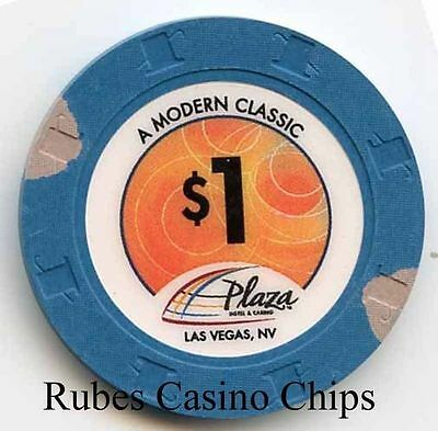 1.00 Chip from the Plaza Casino in Las Vegas Nevada Classic