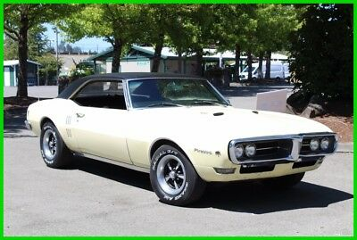 1968 Pontiac Firebird  1968 Pontiac Firebird 400 Survivor with PHS Documentation