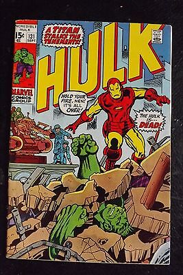 Incredible Hulk 131 FN+ 6.5 Bronze Age