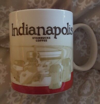 Indianapolis Collectors 2012 Starbucks Mug!