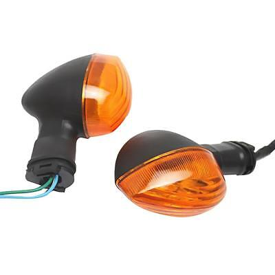 Motor Turn Signals Indicators Blinkers Flasher Yellow Lens for Yamaha R1 R6