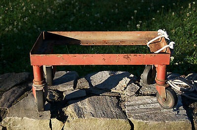 Industrial Cart Small Sturdy Industrial Cart Vintage