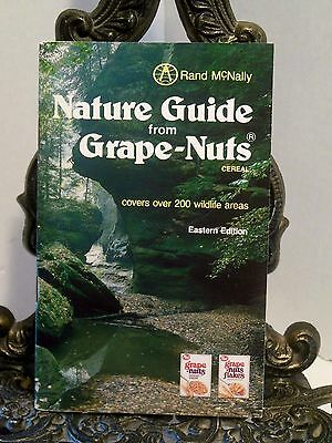 Nature Guide From Grape Nuts Post Cereal Rand McNally Eastern Wildlife Map Atlas