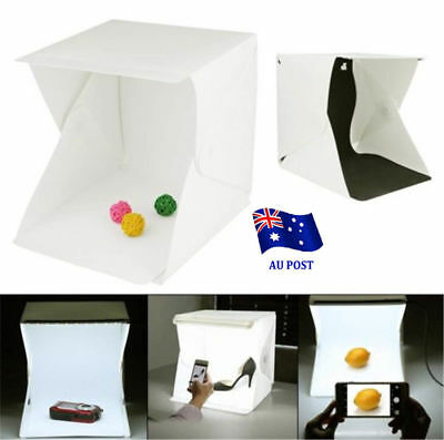 Light Room Photo Studio Photography USB LED Lighting Tent Backdrop Cube Box AU