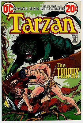 Tarzan #218 (8.5) VF+ White Pages Higher Grade
