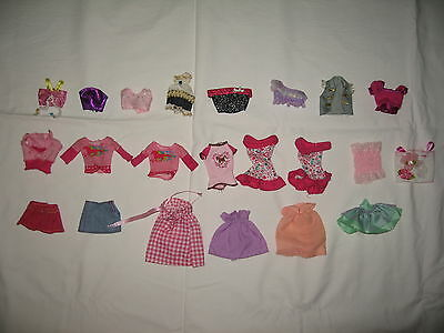 Barbie clothes - tops & skirts