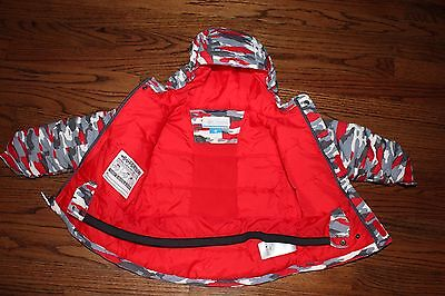 Columbia Omni-Tech Jacket Toddler Size 3T  Internal Sleeve Grow System