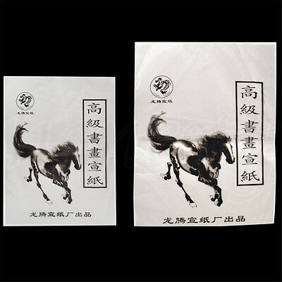 35PCS Chinese Art Paper Rice Paper for Painting Calligraphy Xuan Paper 2 Sizes