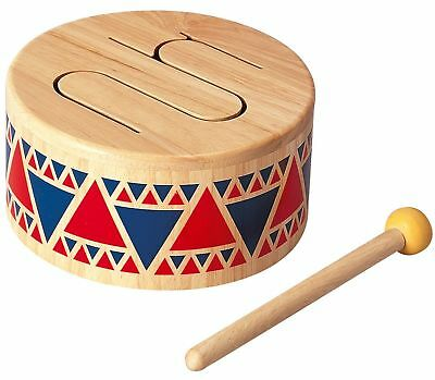 Plan Toys Solid Drum Musical Baby Toddler Toy FREE Post From NSW Australia