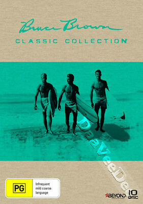 Bruce Brown - The Classics Collection NEW PAL Arthouse Documentaries 10-DVD Set
