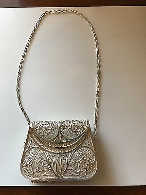 Beautiful ANTIQUE, VINTAGE, Sterling silver change purse