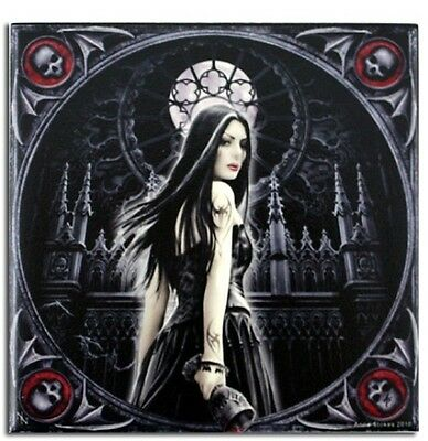 "Anne Stokes Art Tile "" GOTHIC SIREN ""  Small"