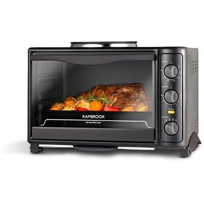 Kambrook Hot Top Mini Oven Portable Bench Top Small Grill & Bake Toaster Oven