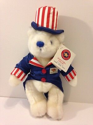 Hard Rock Cafe New Orleans Herrington July 4th 2001 Teddy Bear With Tag