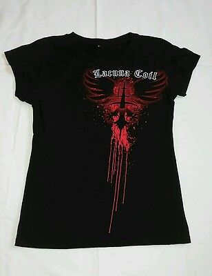 Lacuna coil t-shirt womens size S