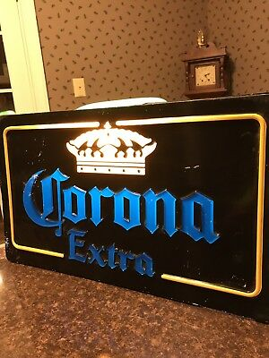 "Corona Extra LED sign 23-1/4"" X 13-1/2"" inches for BAR, PUB or Mancave"