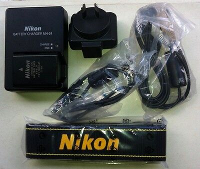 MH-24 battery charger for Nikon EN-EL14 & 14a. New, Genuine and Original.