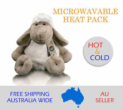 Microwavable Heat Pack Toy Sheep Kid Puppy Cold Removable Silicon Pouch Plush
