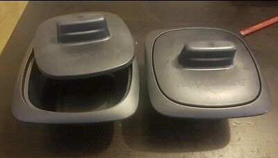 NEW Tupperware Ultrapro Grande Cocottes x set of 2 X 250mls 💕 Oven Microwave 💕