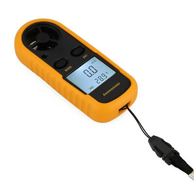 Wind Speed Airflow Gauge digital Meter Anemometer Thermometer GM816 AU Shipping