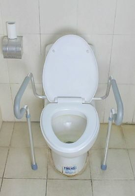Aluminum Toilet Safety Frame with Padded Arms