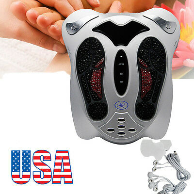 Circulation Medical Blood Booster Foot Massager Infrared Remote Control Relax CE