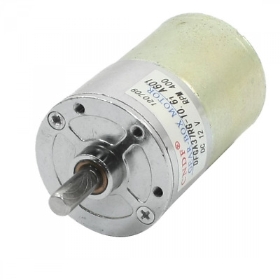 DC MotorGeared Box Motor 400RPM 6mm Shaft for Model Airplane RC Electric Toys