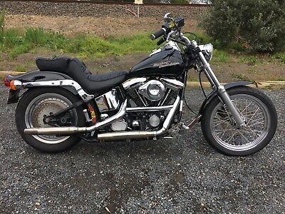 1990 Harley Softail Custom. S&s Carb, Cam, Pipes, Wide Front End, Rides Great
