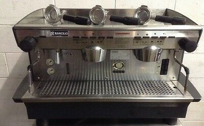 Commercial Cafe Restaurant RANCILIO CLASSE 6E 2 group espresso coffee machine