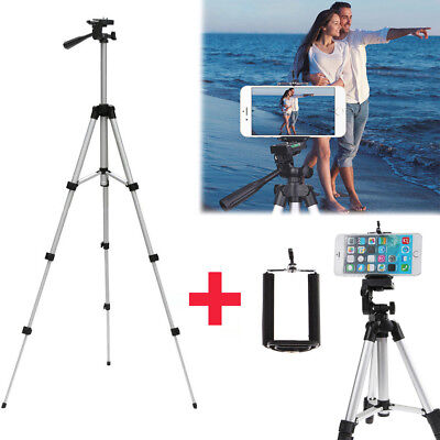 Aluminum Portable Tripod Stand Camera Camcorder w/ Bag for Canon Nikon iPhone