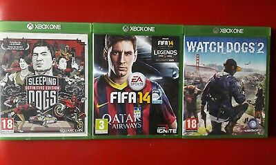 Lot Jeux Xbox One