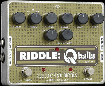 Electro Harmonix Riddle Q-balls Envelope Filter Guitar Effects Pedal