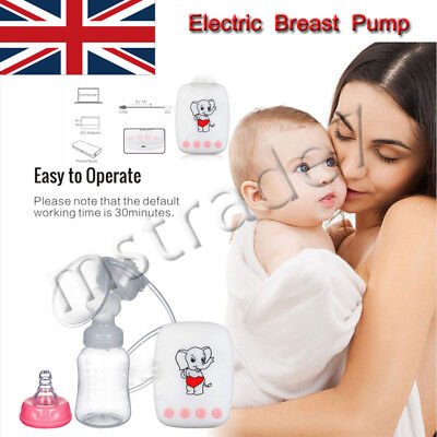 Electric Breast Pump Advanced Breastpump Baby Infant Bottle Feeding With USB UK