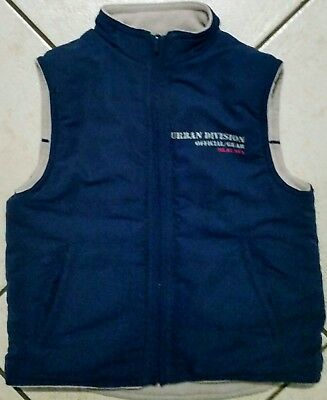 Boys Size 3 Reversible  Vest Navy  and Beige