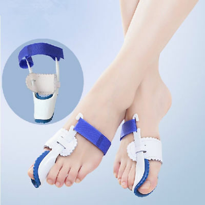 2 Bunion Night Splint Hallux Valgus Corrector Big Toe Straightener Pain Relief