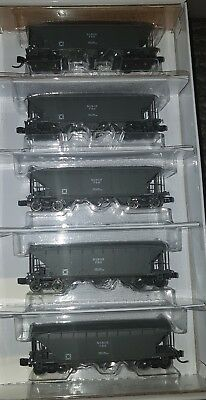 Gopher Models N Scale - NSWGR - FRH Grey Cement Hopper - 5 pack